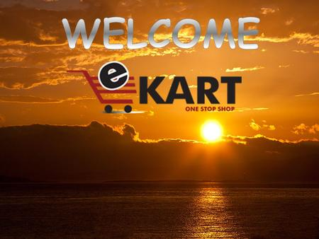 E-Kart Solutions is a PRODUCT Based & ONLINE SHOPPING PORTAL Company registered under the Indian Registration Act. E-Kart Solutions have a combined experience.