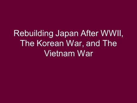 a comparison of the korean war and vietnam war The vietnam war began on 1 november 1955 and ended with the fall of saigon 30 april 1975, lasting 19 and 1/2 years from the end of the 19 th century up until the 1940s vietnam had been a french colony and formed part of french indochina.