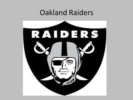 Oakland Raiders. Original Raiders Civil War Blockade: Anaconda Plan.