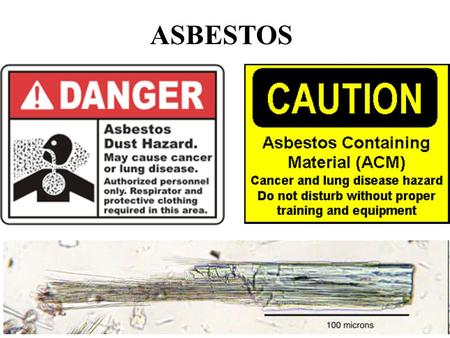 ASBESTOS. Fire in an industrializing world Fire was a leading cause of death in an increasingly 'built' environment (more people closer together living.