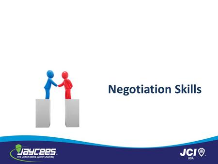 Negotiation Skills.