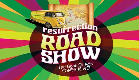 Textbox center. textbox center Resurrection Roadshow Essentials for the Road Show Acts 1:1-3.