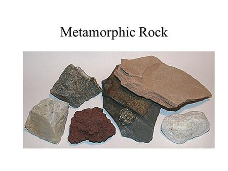 Metamorphic Rock. Rock Cycle Metamorphism means changed form. Agents of Metamorphism Changes occur because of: Heat Pressure Chemical fluids *Rocks.