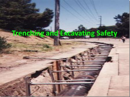 Trenching and Excavating Safety. Asphyxiation Each time a breath is exhaled the weight of the load restricts inhalation of the next breath. Slow suffocation.