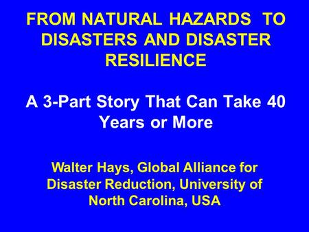 hazards and disasters unit 1 pdf