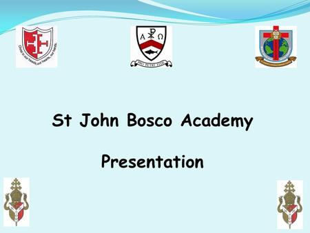 St John Bosco Academy Presentation. 6 key areas: Why Change? What is a MAC? What are the main benefits to our schools in becoming a multi academy? What.