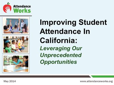 improving school attendance Chronic elementary absenteeism: a problem hidden in plain sight if children aren't in school, they don't learn improving school attendance improves success in school family policy center obtained school-by-school attendance.