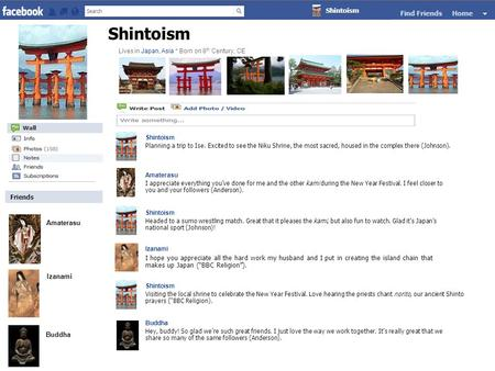 Friends Shintoism Planning a trip to Ise. Excited to see the Niku Shrine, the most sacred, housed in the complex there (Johnson). Amaterasu I appreciate.