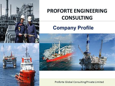 PROFORTE ENGINEERING CONSULTING