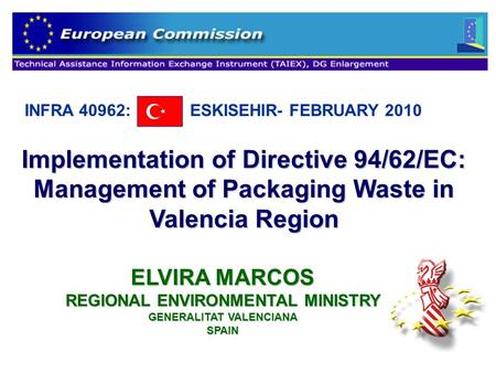 1eva fornes mart nez sofia july 2009 spanish and valencia for Environmental management bureau region 13