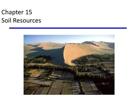 Chapter 14 soil resources ppt video online download for Meaning of soil resources