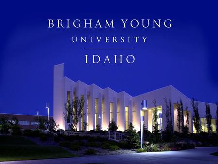 Information Privacy and Compliance Training For All Brigham Young University– Idaho Employees.