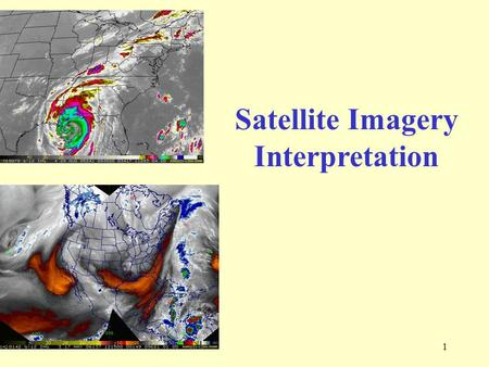 1 Satellite Imagery Interpretation. 2 The SKY Biggest lab in the world. Available to everyone. We view from below. Satellite views from above.