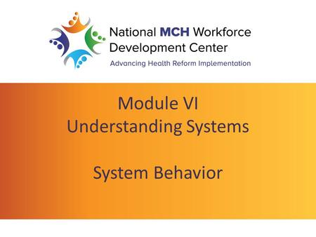 Module VI Understanding Systems System Behavior. Learning Objectives System Behavior and Structure – Why we should care – What system structure is – Strategies.