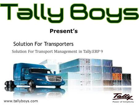 Solution For Transporters