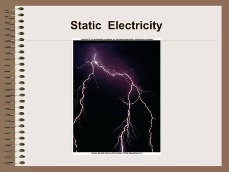 Static Electricity. Positive and Negative Charge Same charges repel.