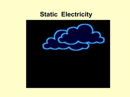 Static Electricity. + - + + + + The world is filled with electrical charges: + + + + + - - - - - - - - -