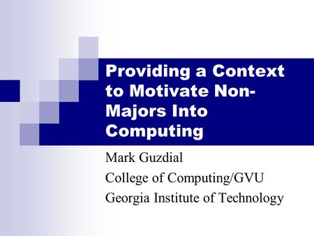 context that motivate learning Second-language acquisition second-language learning and much research in the context of second-language acquisition has focused on what level of access.