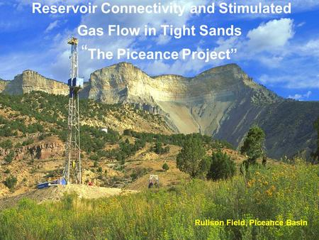 "Reservoir Connectivity and Stimulated Gas Flow in Tight Sands "" The Piceance Project"" Rulison Field, Piceance Basin."