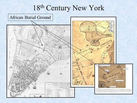 18th Century New York African Burial Ground.
