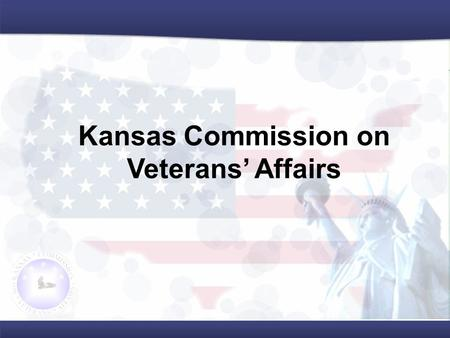 Kansas Commission on Veterans' Affairs. Tim Lang Mobile Veteran Services Representative.