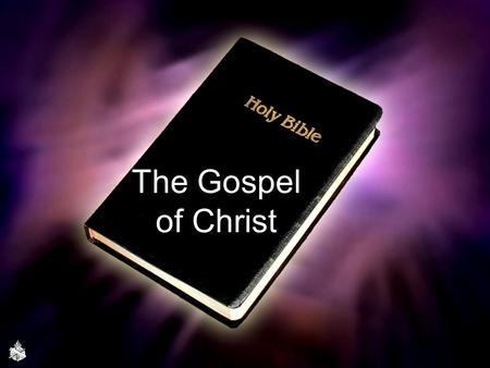 "The Gospel of Christ. ""What is the gospel? Before one can designate a thing as 'another gospel' he must be able to identify the original gospel. The gospel,"