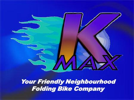 Your Friendly Neighbourhood Folding Bike Company.