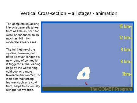 Vertical Cross-section – all stages - animation