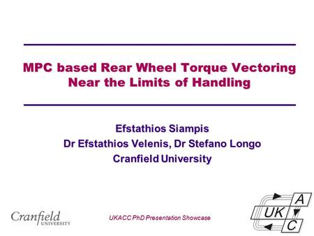 MPC based Rear Wheel Torque Vectoring Near the Limits of Handling