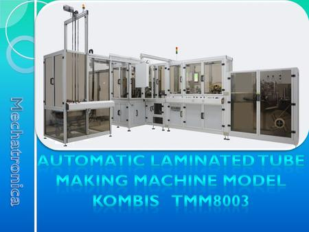 Unwinding module is designed for unwinding of laminate tape, for its steering, for the cutting of the necessary width and for the easy feeding of material.