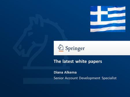 Diana Alkema Senior Account Development Specialist The latest white papers.