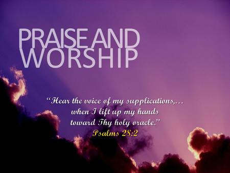 WORSHIP PRAISE AND. Firm Foundation CHORUS 1: Jesus, You're my firm foundation, I know I can stand secure Jesus, You're my firm foundation, I put my.