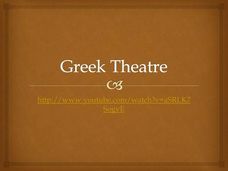 the origins and history of the theater in ancient greek society Greek theater history notes all drama originates from ancient greece where groups of people worshiped the god dionysus by singing and dancing together.
