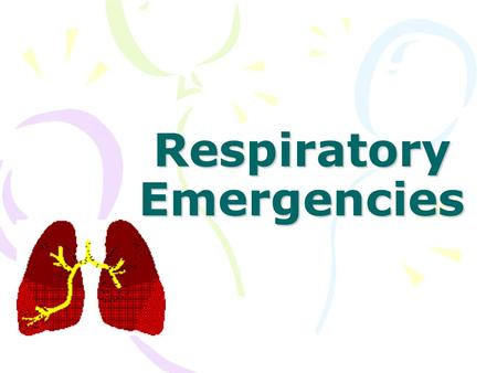 Respiratory Emergencies. Anatomy Review Nose and mouth Pharynx –Oropharynx –Nasopharynx Epiglottis – a leaf-shaped structure that prevents food and.