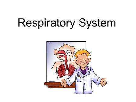 Respiratory System. The respiratory system is the system of the body that brings in oxygen from the air and takes away carbon dioxide. –The body needs.
