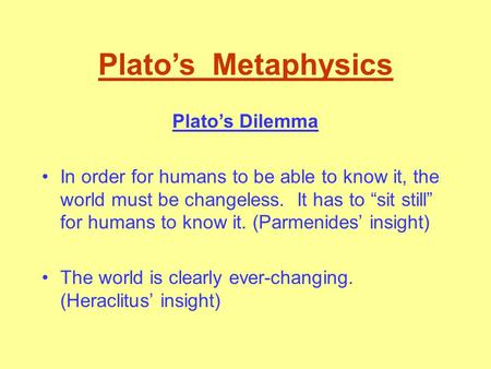 using plato's allegory to explain the