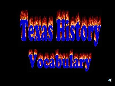 People who wanted to abolish slavery Term of office Sam HoustonDavid Burnet Mirabeau LamarDr. Anson Jones PRESIDENTS OF TEXAS.