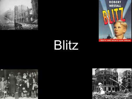 Blitz. Blitz information On the 7 of September 1940 crushing bombs hit London from German Luftwaffe. It lasted to the10th of may 1941. London devastated.