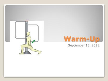 Warm-Up September 13, 2011. Parts of Speech – Nouns (Obj. 6.01) A noun is a word that names a person, place or thing (ex. man, city, book, courage. Nouns.