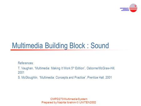 Multimedia Building Block : Sound