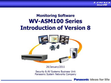 Introduction of Version 8