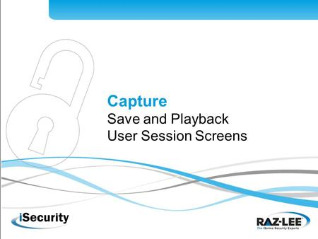 Hacking www.razlee.com Capture Save and Playback User Session Screens.