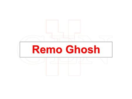 Remo Ghosh. Remo- Chota Don Achievement- Sony Ent. Television INDIAN IDOL 4,Top-5 Finalist I have done playback for a show called ''ISHAAN''aired on DISNEY.