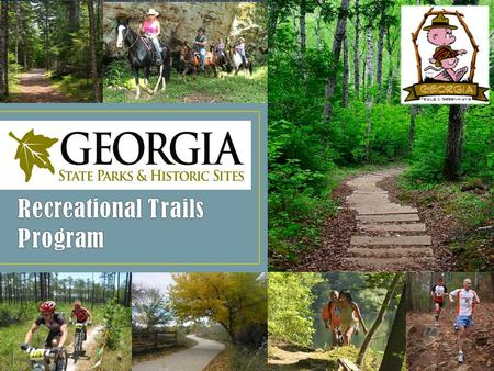 The Recreational Trails Program (RTP) provides funds to the States to develop and maintain recreational trails and trail-related facilities for nonmotorized.