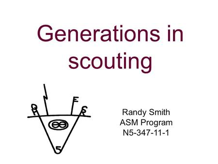 Generations in scouting