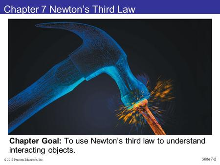 Chapter 7 Newton's Third Law