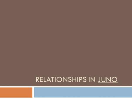 Relationships In JUno.