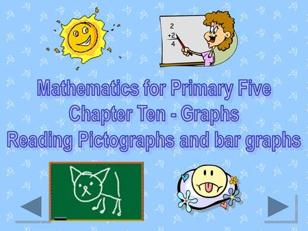 Introduction Reading pictographs and bar graphs is a sub-topic of Graphs (Chapter ten) taken from Mathematics syllabus for Primary five students in Negara.