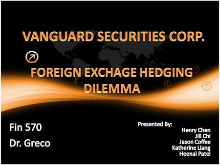 vanguard security corporation international transaction dilemma
