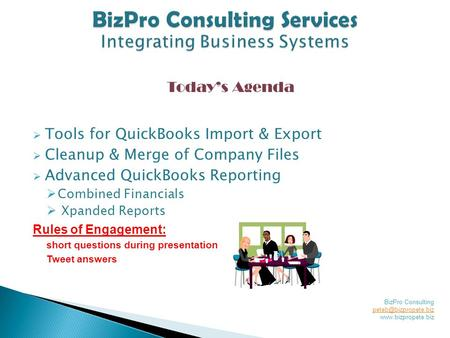  Tools for QuickBooks Import & Export  Cleanup & Merge of Company Files  Advanced QuickBooks Reporting  Combined Financials  Xpanded Reports Rules.
